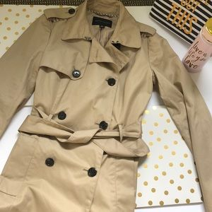 Banana Republic Classic Trench Coat SZ Small Tall